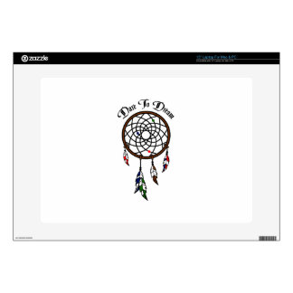 """Dare To Dream 15"""" Laptop Decal"""