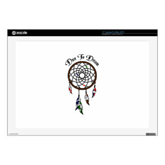 """Dare To Dream 17"""" Laptop Decal"""