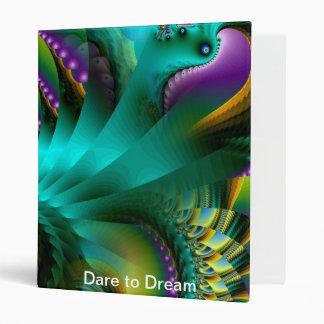 Dare to Dream 3 Ring Binders