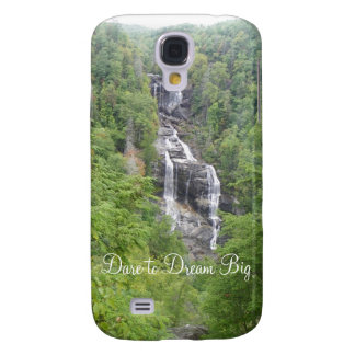 Dare To Dream Big Mountain Waterfall Samsung Case