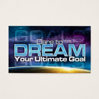Dare To Dream Goal Card