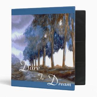 Dare To Dream Inspirational 3 Ring Binder