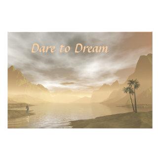 Dare to Dream Photo Print