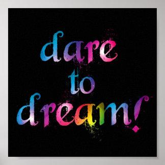 Dare to dream print