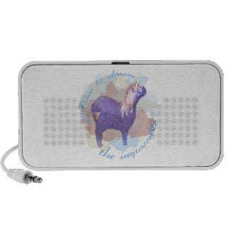 Dare to Dream the Impossible Unicorn Gifts PC Speakers