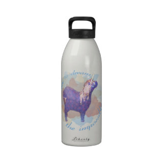 Dare to Dream the Impossible Unicorn Gifts Reusable Water Bottles