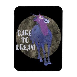 Dare to Dream Unicorn Flexible Magnet