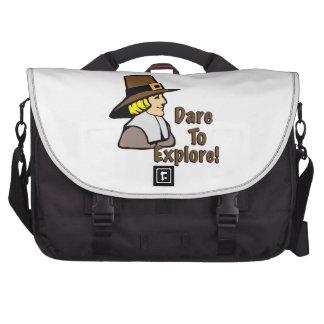 Dare To Explore Computer Bag