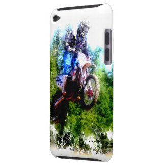 """""""Dare to Fly"""" Motocross Rider iPod Case-Mate Cases"""