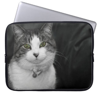 Dare to Look Into My Green Eyes Laptop Sleeve