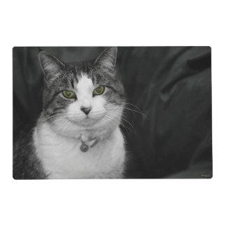 Dare to Look Into My Green Eyes Placemat