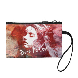 Dare To Love | Key Coin Clutch