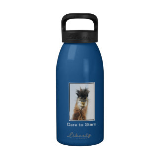 Dare to Stare Heron Water Bottle
