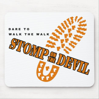 Dare to walk the walk... mouse pad