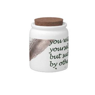 Dare to write candy jars