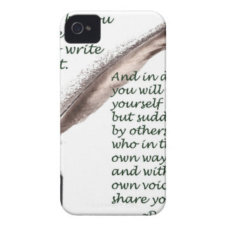 Dare to write iPhone 4 case