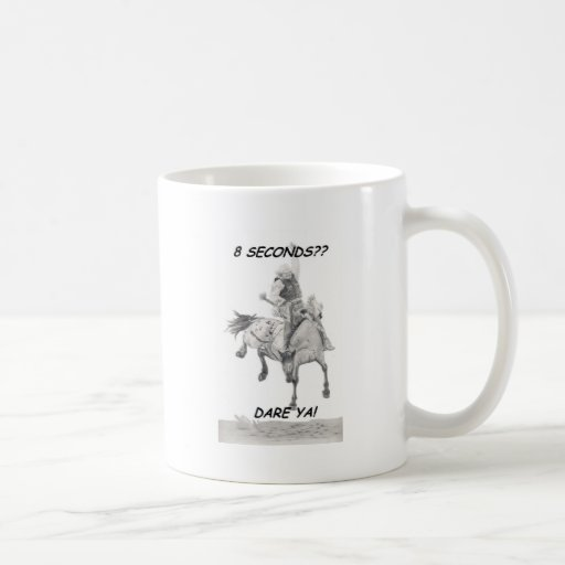 Dare Ya, Saddle bronc Coffee Mugs