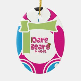 DareBears 2013 Ceramic Ornament