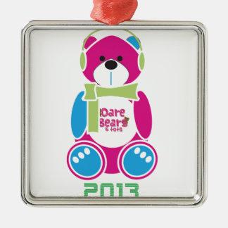 DareBears 2013 Metal Ornament
