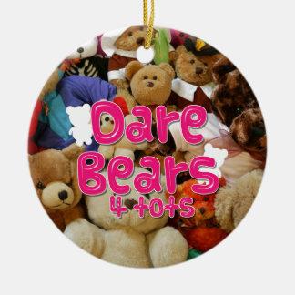 DareBears and DareBears4Tots merchandise Ceramic Ornament