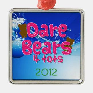 DareBears and DareBears4Tots merchandise Metal Ornament