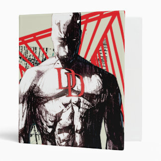 Daredevil Abstract Sketch Binder