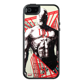 Daredevil Abstract Sketch OtterBox iPhone 5/5s/SE Case