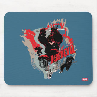 Daredevil Action Graphic Mouse Pad