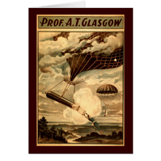 Daredevil Ballooners Card