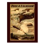Daredevil Ballooners Post Card