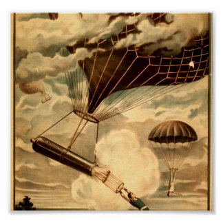 Daredevil Ballooners Print