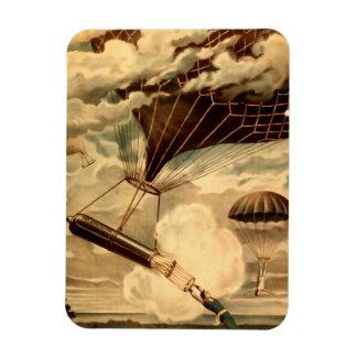 Daredevil Ballooners Rectangular Photo Magnet