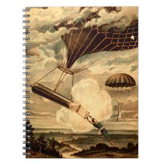 Daredevil Ballooners Spiral Notebook
