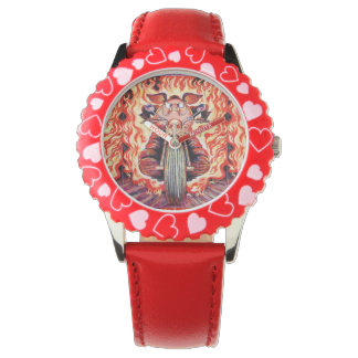 Daredevil Flame Stunt Rider Pig Watch