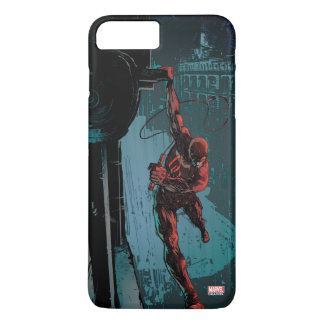 Daredevil Hanging From A Ledge iPhone 8 Plus/7 Plus Case
