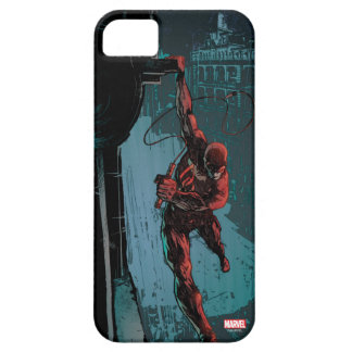 Daredevil Hanging From A Ledge iPhone SE/5/5s Case