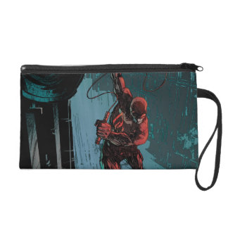 Daredevil Hanging From A Ledge Wristlet