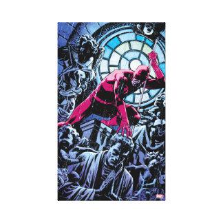Daredevil Inside A Church Canvas Print