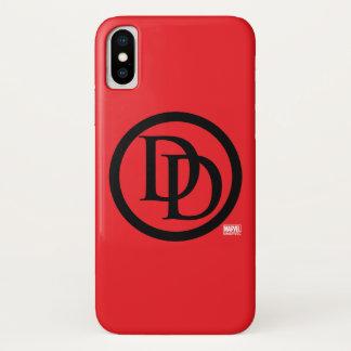 Daredevil Logo iPhone X Case