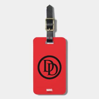 Daredevil Logo Luggage Tag