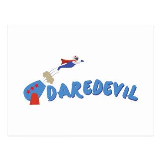 Daredevil Man Postcard