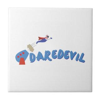 Daredevil Man Small Square Tile
