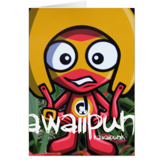 Daredevil Mascot Greeting Card