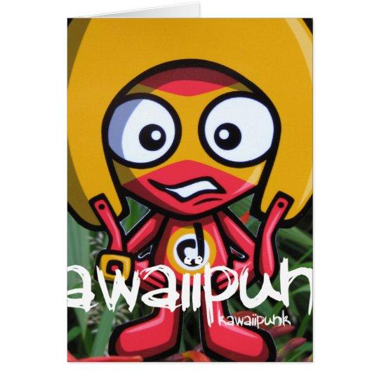 Daredevil Mascot Card