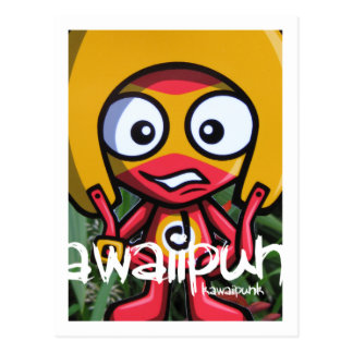 Daredevil Mascot Postcard