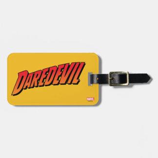 Daredevil Name Logo Bag Tag