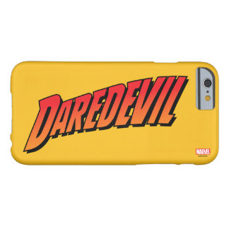 Daredevil Name Logo Barely There iPhone 6 Case
