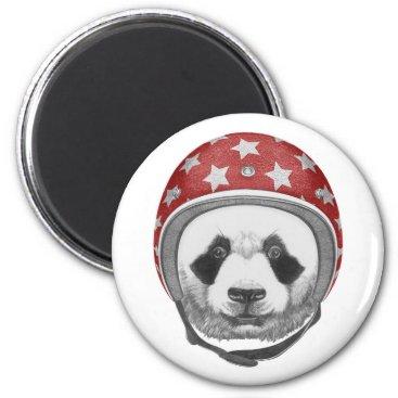Daredevil Panda Magnet