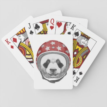 Daredevil Panda Playing Cards