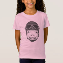 Daredevil Pig T-Shirt